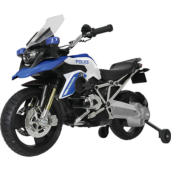 Bmw R 1200 Gs Police Motorcycle 6v Blue Rollplay Mytoys