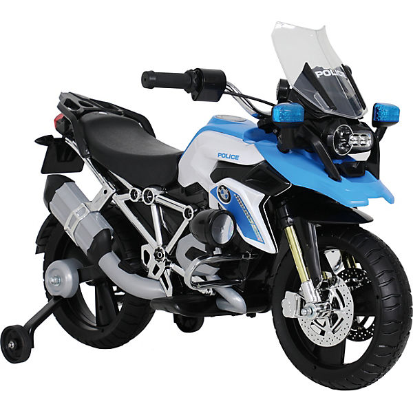 BMW R 1200 GS Police Motorcycle, 6V, blue