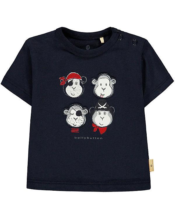 Bellybutton mother nature /& me Baby-Jungen Langarmshirt T-Shirt