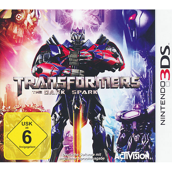 3DS Transformers - The Dark Spark