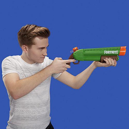 Водный бластер Nerf Supersoaker Fortnite Pump-SG от Hasbro