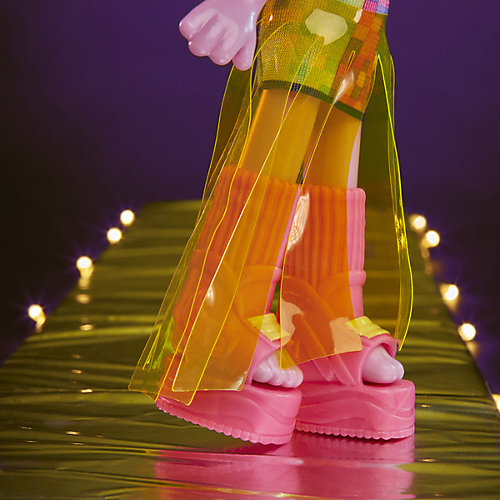 "Кукла Trolls World Tour ""Делюкс"" Сатинка от Hasbro"