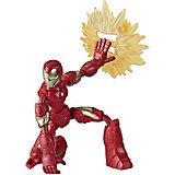 Игровая фигурка Marvel Avengers Bend and Flex Железный человек, 15 см