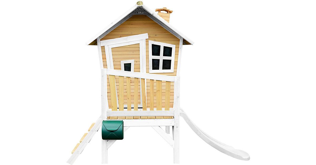 Robin Spielhaus Braun/Weiß - Weiße Rutsche braun/weiß