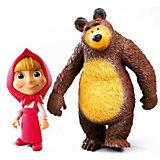 Набор фигурок Prosto Toys Маша и Медведь, 2 шт, 7-10 см