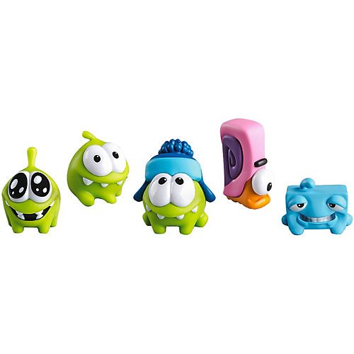 Набор фигурок Prosto Toys Cut the Rope, 5 шт, 4 см от Prosto Toys