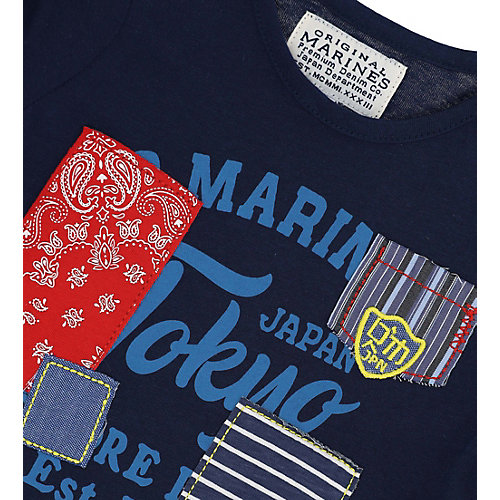 Лонгслив Original Marines - темно-синий от Original Marines