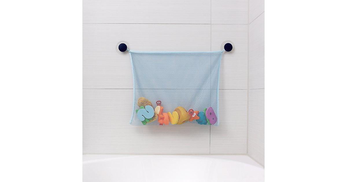 Spielzeugnetz Badewanne blau  Kinder