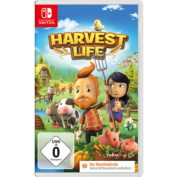 Nintendo Switch Harvest Life Code In A Box Mytoys