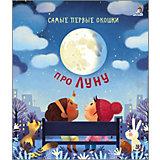"""Книга с секретами Самые первые окошки """"Про Луну"""""""