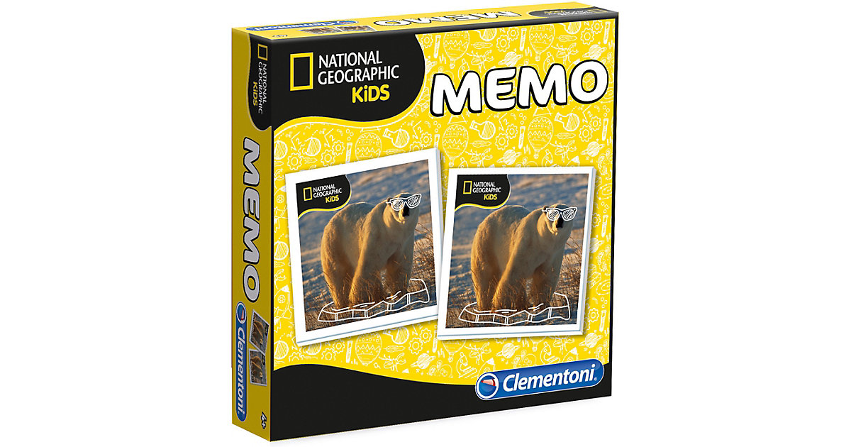 Memo Game - National Geographic
