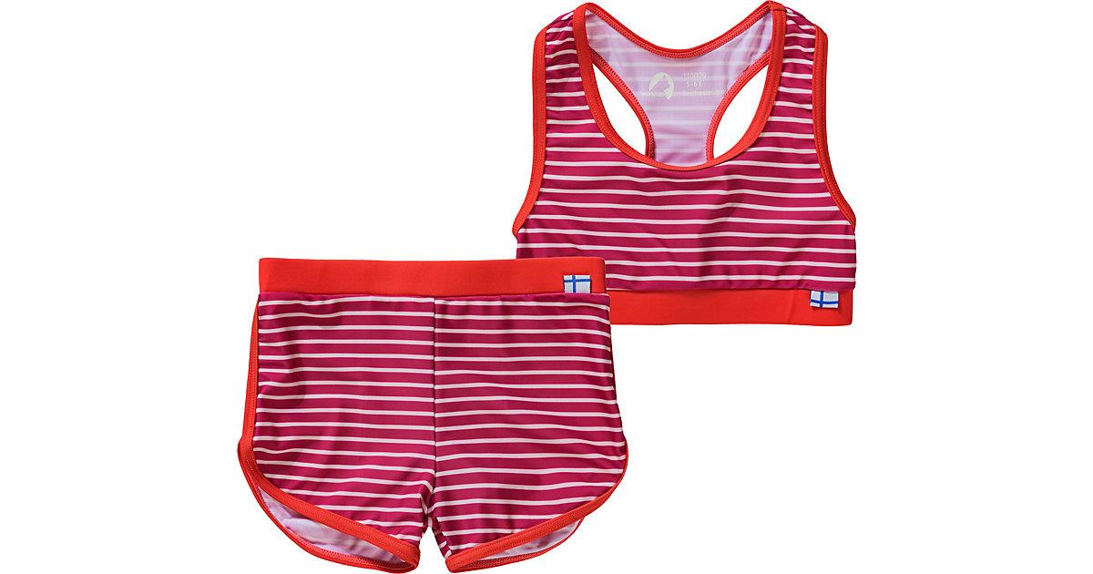 Kinder Bikini LUOTO mit UV-Schutz 50+ pink Gr. 80/86 Mädchen Kleinkinder