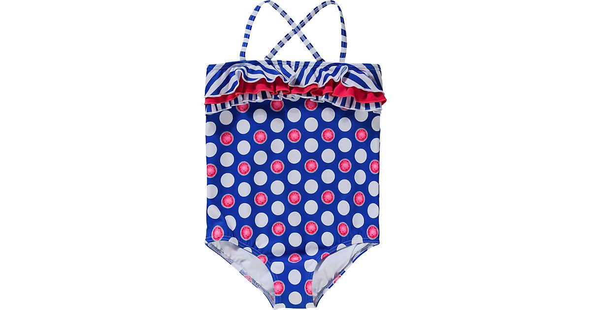 Kinder Badeanzug blau Gr. 92 Mädchen Kleinkinder