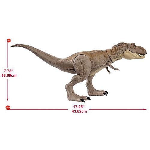 Фигурка динозавра Jurrasic World Свирепый Тираннозавр Рекс от Mattel