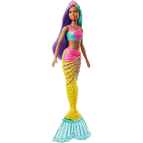 "Кукла Barbie ""Русалочка"" С жёлтым хвостом от Mattel"
