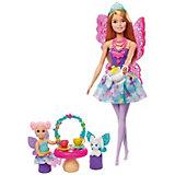 """Игровой набор Barbie Dreamtopia """"Заботливая принцесса"""" Чаепитие"""