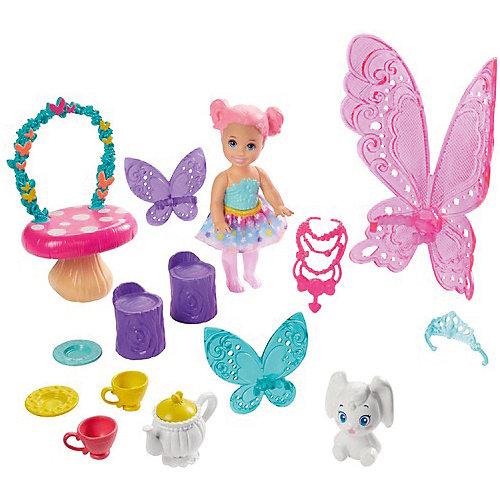 """Игровой набор Barbie Dreamtopia """"Заботливая принцесса"""" Чаепитие от Mattel"""