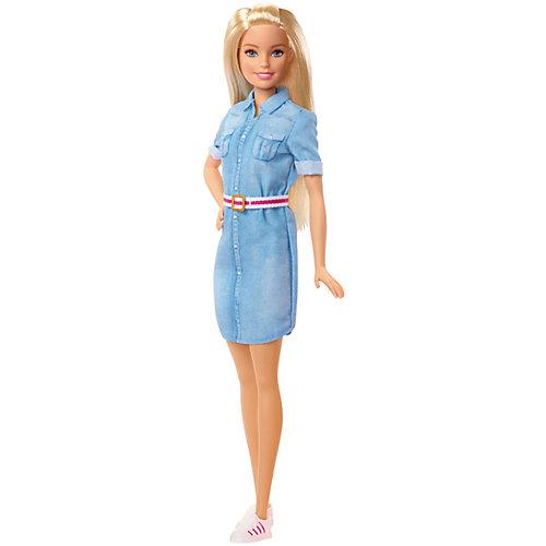 """Кукла Barbie """"Путешествия"""" В джинсовом платье от Mattel"""