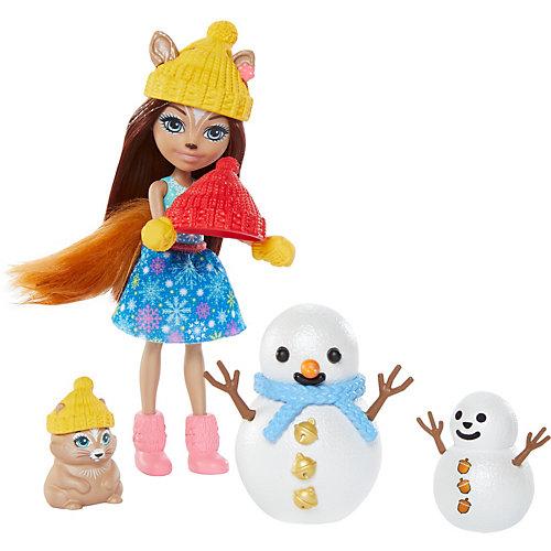 Игровой набор Enchantimals Банный день с Петти Пиг от Mattel