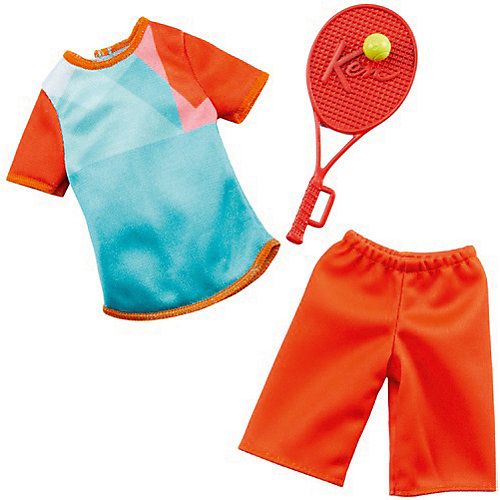 "Одежда для куклы Barbie Кен ""Профессии"" Теннисист от Mattel"