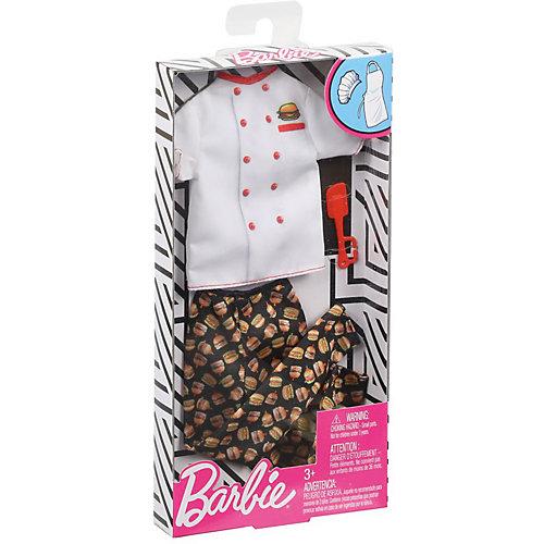 """Одежда для куклы Barbie Кен """"Профессии"""" Повар от Mattel"""
