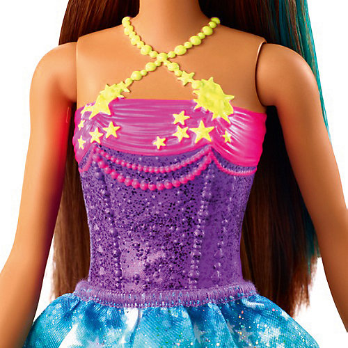 "Кукла Barbie Dreamtopia ""Принцесса"" В фиолетовом топе от Mattel"