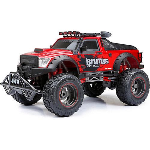 Радиоуправляемая машинка New Bright Brutus Truck 1:8, красная от New Bright