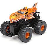 Радиоуправляемая машинка Машинка New Bright Monster Truck 1:43, оранжевая