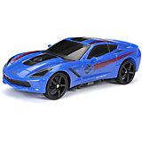 Радиоуправляемая машинка New Bright Sport Car 1:24, синяя