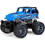 Радиоуправляемая машинка New Bright Truck 1:24, синяя