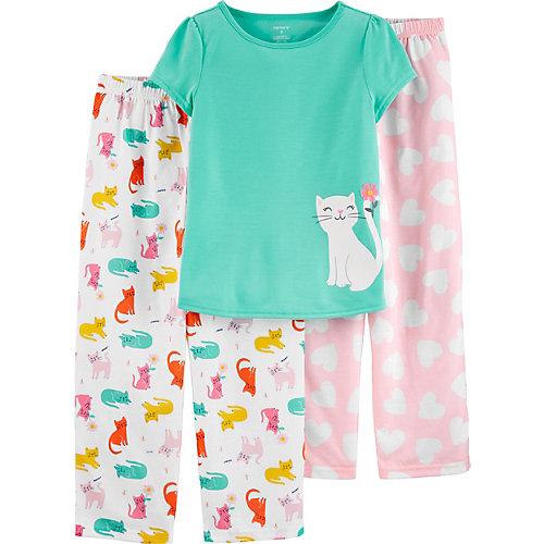 Комплект Carters: футболка и брюки 2 шт - разноцветный от carter`s