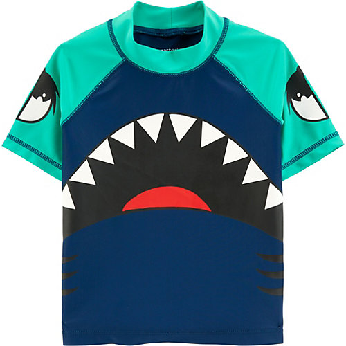 Пляжная футболка Carters - синий от carter`s