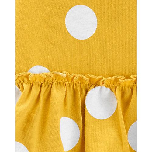 Комплект Carters: боди и леггинсы - желтый от carter`s