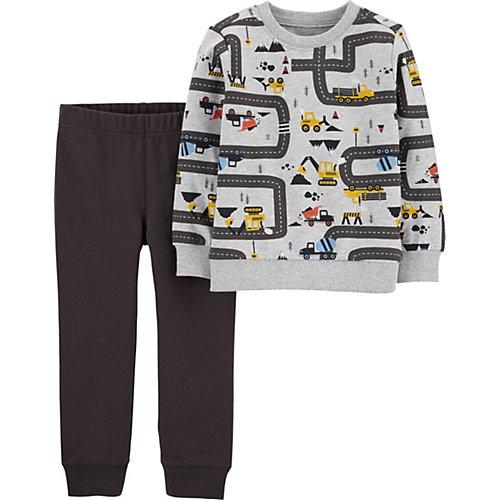 Комплект Carters: свитшот и брюки - серый от carter`s