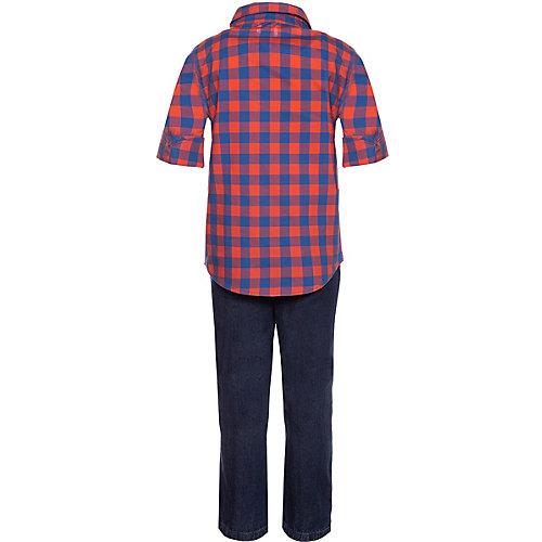 Комплект Carters: рубашка и джинсы - разноцветный