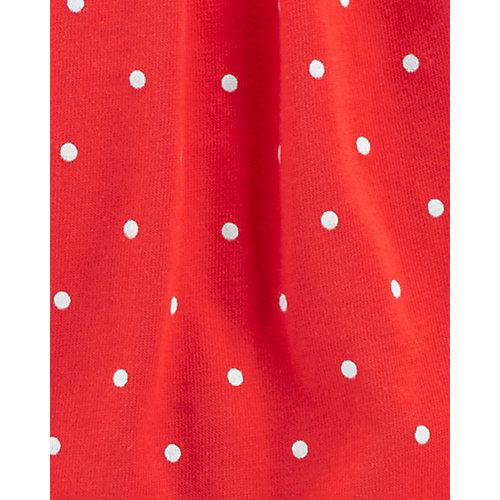 Комплект Carters: топ, боди и юбка - красный от carter`s
