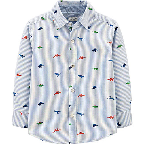 Рубашка Carters - голубой от carter`s