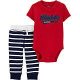 Комплект Carters: боди и брюки