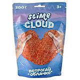 """Слайм Slime Crunch """"Рассветные облака"""" с ароматом персика"""