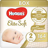 Подгузники Huggies Elite Soft 2, 4-6 кг, 164 шт