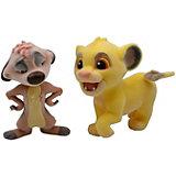 Фигурка Disney Character Fluffy Puffy: Король лев: Симба и Тимон