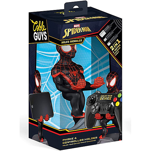 Фигурка-подставка Exquisite Gaming Cable guy: Marvel: Майлз Моралес Человек-паук от Exquisite Gaming