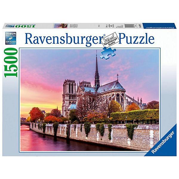 Puzzle 1500 Teile Malerisches Notre Dame, Ravensburger