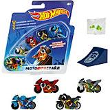 """Игровой набор 1Toy Hot Wheels """"Мотофристайл"""", 8 предметов"""