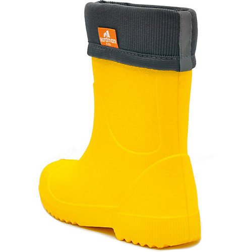 Резиновые сапоги со съемным носком Nordman Jet - желтый от Nordman