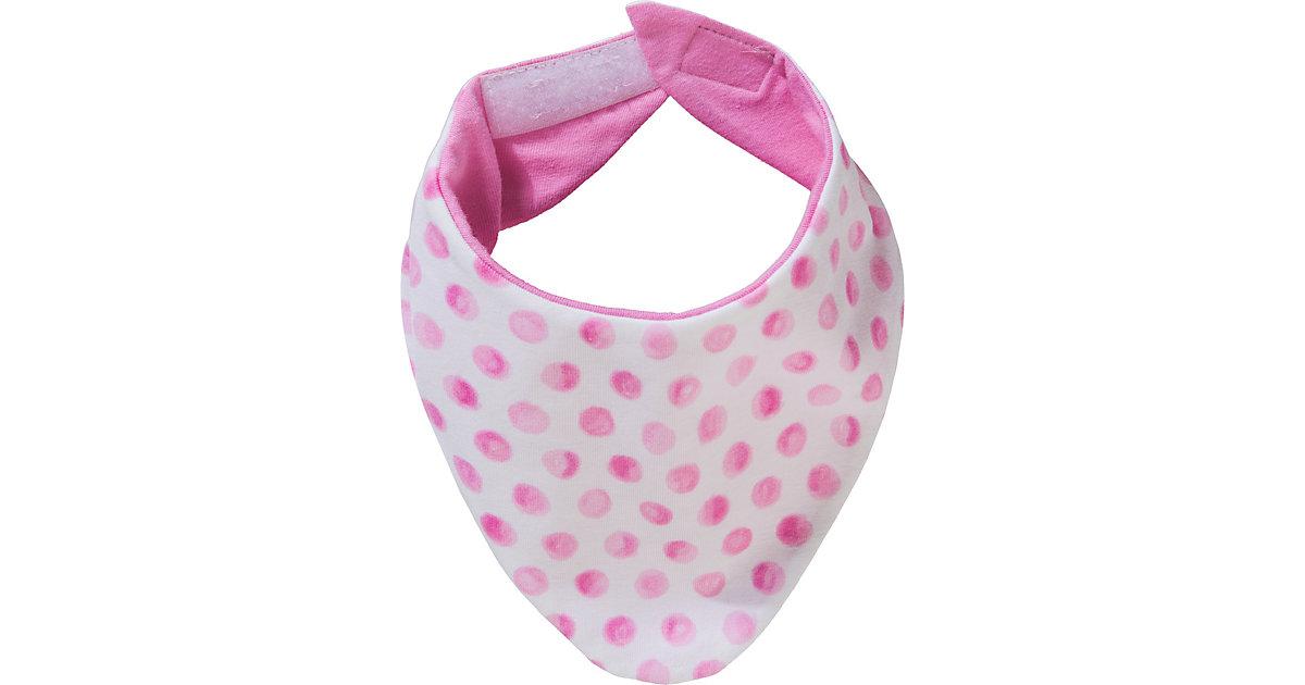 Baby Dreieckstuch mit Klett zum Wenden  pink Gr. one size Mädchen Kinder