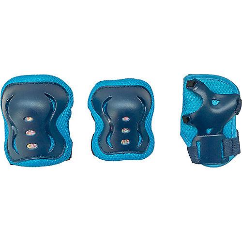 Ролики Tech Team Jungle Set с комплектом защиты, размер  26-29 - синий от Tech Team