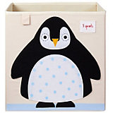Коробка для хранения 3 Sprouts. Пингвин
