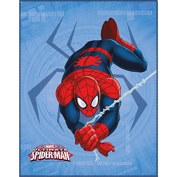 Fleece Decke, Spiderman Spider, 110 x 140 cm