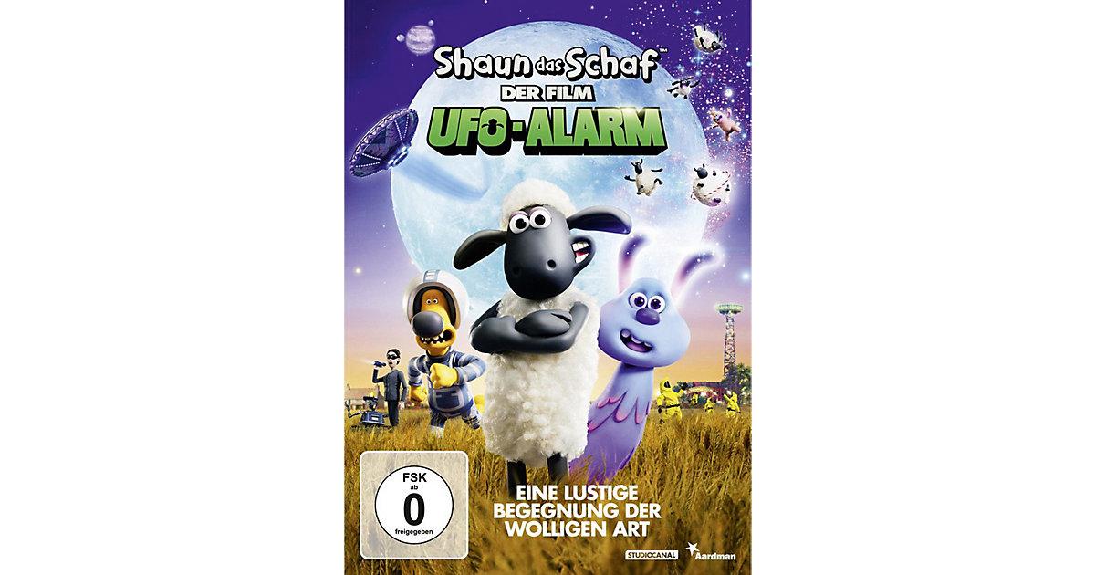 DVD Shaun das Schaf - Der Film: Ufo-Alarm Hörbuch